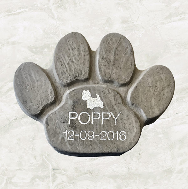Paw Print Stepping Stone  £62.96