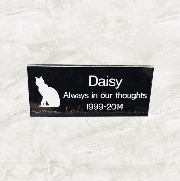 Medium Granite plaque  £62.98